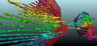 Modelación 3-D del sistema de ventilación de Tolukuma mediante el software Ventsim.