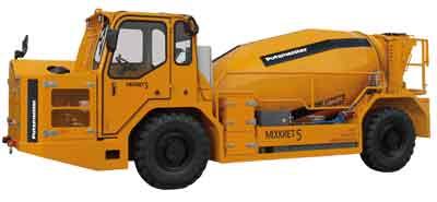 Putzmeister amplía la familia Mixkret de equipos de mezclado y transporte de concreto de bajo perfil con el nuevo Mixkret 5 que ofrece una capacidad de mezclado y transporte de 5 m3.