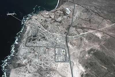 Muelle de embarque de Minera centinela, ubicado en la localidad de Michilla