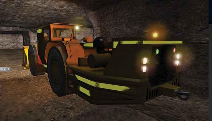 ThoroughTec está desarrollando simuladores de entrenamiento de operadores para equipos mineros para roca blanda usados por su cliente, BHP Billiton.