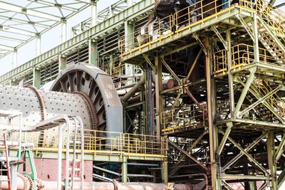 La planta de magnetita de Copiapó procesó aproximadamente 25,7 millones toneladas métricas de relaves de la compañía contractual Minera Candelaria, con una ley promedio de Fe mag alimentado de 5,5%.