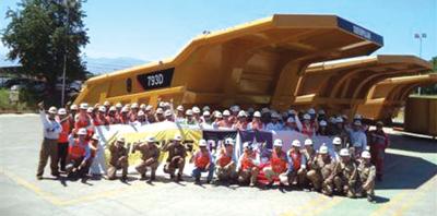 Finning Sudamérica Vende Primera Tolva HP de Caterpillar Fabricada en Chile