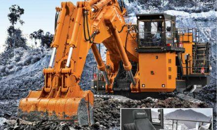 Hitachi Lanza Excavadores de Accionamiento Eléctrico